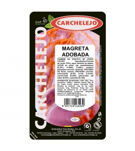 1126-LONCHEADO MAGRETA ADOBADA 200G