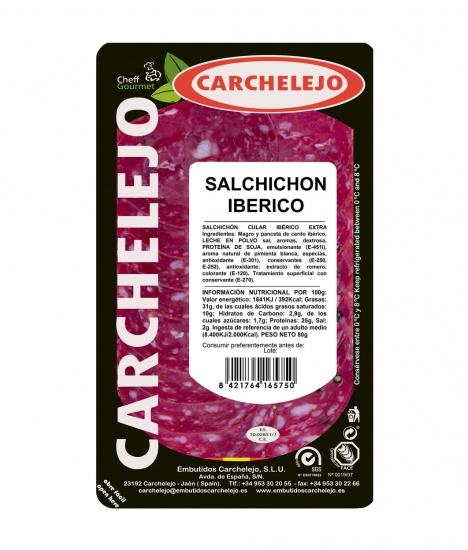 1293-LONCHEADO SALCHICHON IBERICO 80G