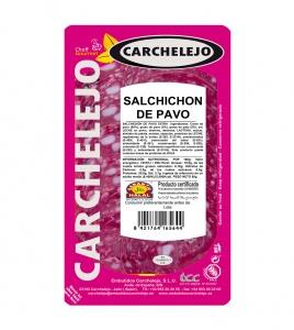 1304-LONCHEADO SALCHICHON DE PAVO 80G